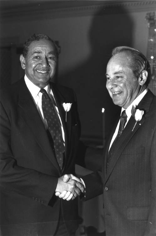 Raymond V. Haysbert Sr. and George V. McGowan