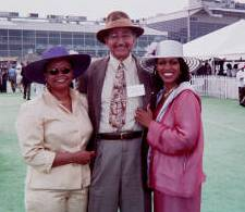 Preakness 96' Senator Verna Jones, Raymond V. Haysbert Sr. and GBBCC Membership Chair Karyne Henry